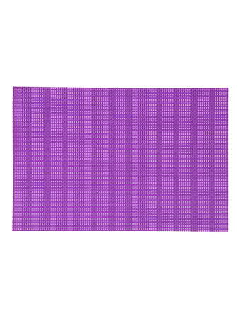 HOME ESSENTIALS - Place Mat 12INX17.5IN Melnage Solid PURPLE