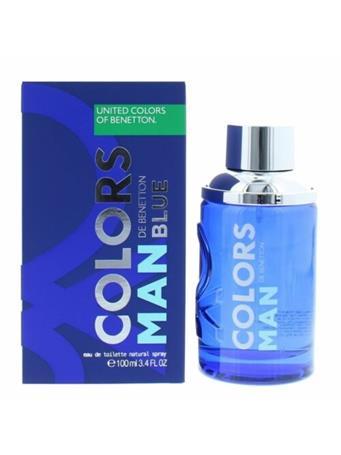 BENETTON - Blue for Men - Eau de Toilette 100ml - $29 Special No Color