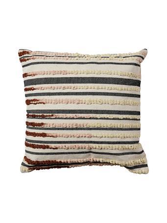 EDEN & WEST - Decorative Pillow Lattern Yarn Coffee COFFEE