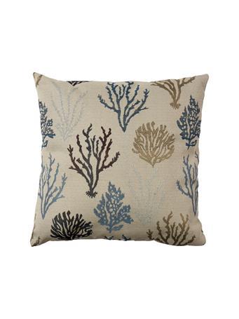 EDEN & WEST - Decorative Pillows Coral Blues BLUE