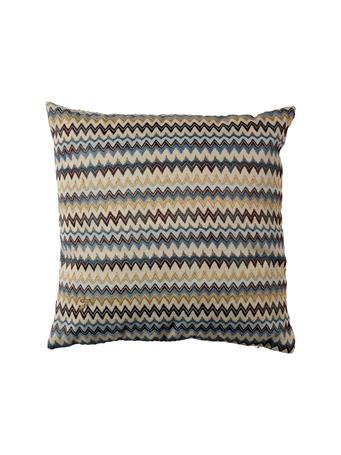EDEN & WEST - Decorative Pillow Zig Zag Blues BLUE