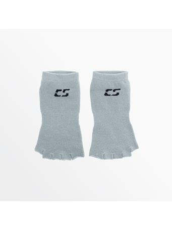 CAPELLI - Toeless Yoga Sock With Rubber GRY