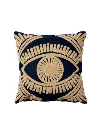 MAISONLUXE - Decorative Pillow Third Eye Blind BLACK/WHITE