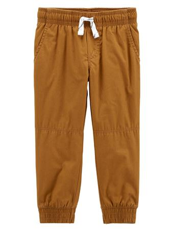 CARTER'S - Everyday Pull On Pants - (2T-5T) KHAKI