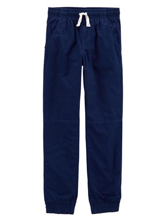 CARTER'S - Everyday Pull On Pants - (5-8) NAVY