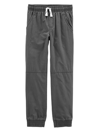 CARTER'S - Everyday Pull On Pants - (5-8) GREY