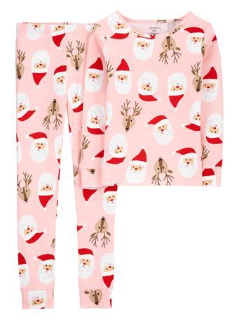 CARTER'S - 2 Piece 100% Snug Fit Cotton Pajamas - (5-8) NOVELTY