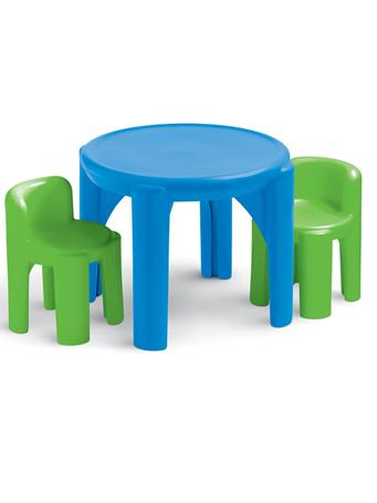 LITTLE TIKES - Table And Chairs Primary No Color