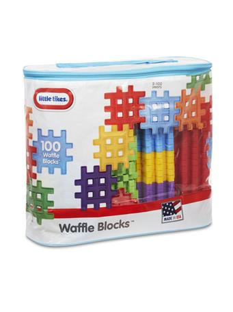 LITTLE TIKES - Waffle Blocks In Bag 100 Pc No Color