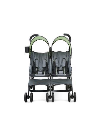 DELTA - LX Side by Side Stroller - Lime & Grey  BLACK LIME