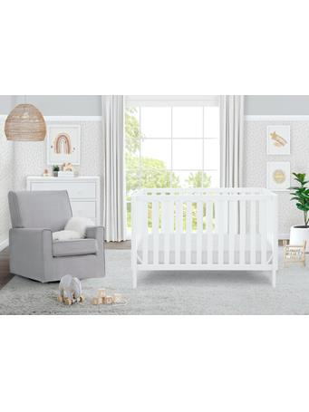 DELTA - Milo 3-in-1 Crib BIANCA WHITE