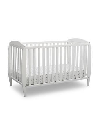 DELTA - Taylor 4-in1- Crib BIANCA WHITE
