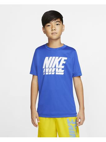 NIKE - Short Sleeve Top GAME ROYAL