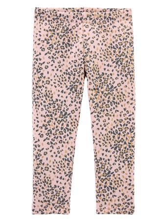 CARTER'S - Cozy Fleece Lined Leopard Leggings (2T-5T) NOVELTY