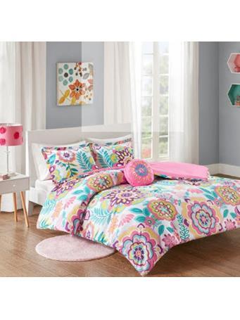 MI-ZONE - Camille Comforter Set PINK