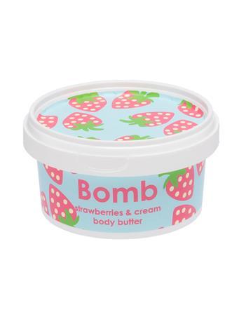 BOMB - Strawberries & Cream Body Butter No Color