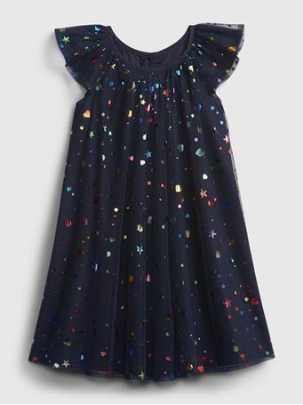GAP - Toddler Tulle Dress NAVY UNIFORM