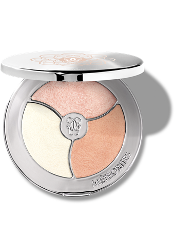 GUERLAIN - MÉTÉORITES PEARL DUST PALETTE - Customised highlighting palette Pearly Pink - Pearly Gold - Pearly Amber