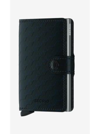 SECRID - Mini Wallet with Fastener BLACK TITANIUM
