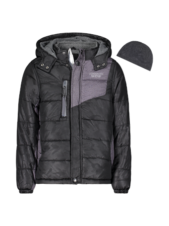 LONDON FOG - Bubble Jacket (8-16) BLACK
