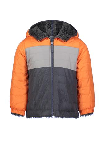 LONDON FOG - Reversible Midweight Jacket (8-16) ORANGE