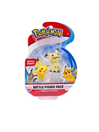 LICENSE-2-PLAY - Pokemon Battle Figure Packs NO COLOR