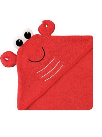 LUVABLE FRIENDS - Friends Animal Face Hooded Towel, Lobster MULTI