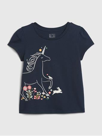 GAP - Toddler Mix and Match Graphic T-Shirt UNICORNS