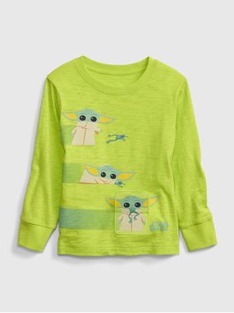 GAP - babyGap | StarWars Round Neck Sweatshirt GREEN THUMB