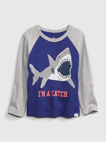 GAP - Toddler Graphic T-Shirt BODEGA BLUE