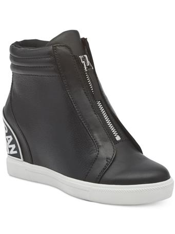 DKNY - Connie Slip On Wedge Boot BLACK