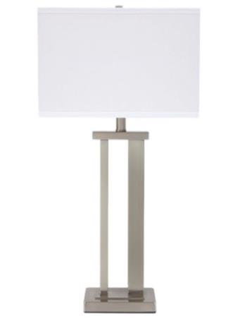 ASHLEY FURNITURE - Aniela Table Lamp SILVER