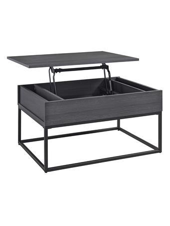 ASHLEY FURNITURE - Yarlow Lift Top Coffee Table BLACK