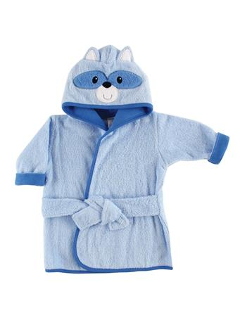 LUVABLE FRIENDS - Animal Face Bathrobe, Raccoon No Color