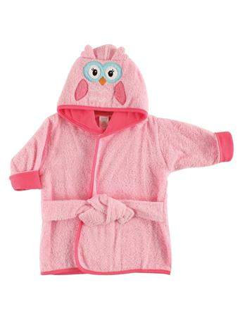 LUVABLE FRIENDS - Animal Face Bathrobe, Owl No Color