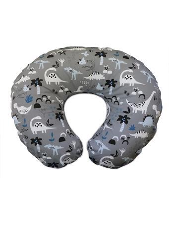 BOPPY - Grey Dino Boppy Original Feeding & Infant Support Pillow NOVELTY
