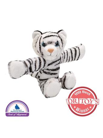 WILD REPUBLIC - Huggers White Tiger NOVELTY