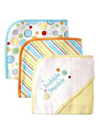 BABYVISION INC. - Hooded Towel YELLOW