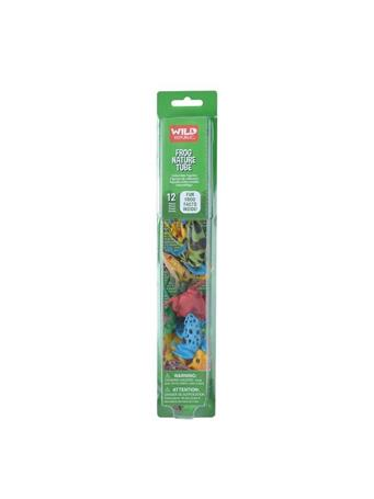 WILD REPUBLIC - Nature Tube Frogs NOVELTY