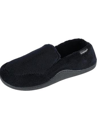 ISOTONERS - Microterry Slip On BLACK
