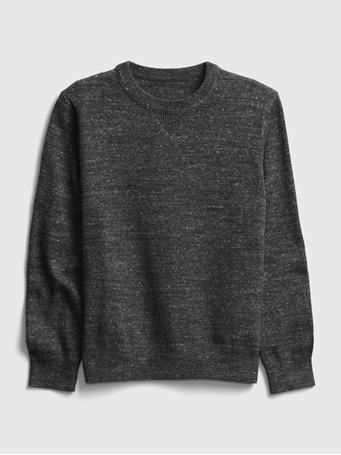 GAP - Kids Crewneck Sweater TRUE BLACK
