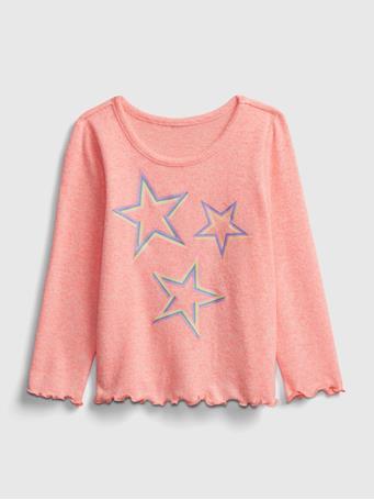 GAP - Toddler Softspun Graphic T-Shirt SASSY PINK