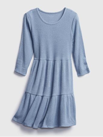 GAP - Kids Softspun Dress BAINBRIDGE BLUE