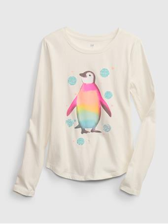 GAP - Kids Interactive Graphic T-Shirt IVORY FROST