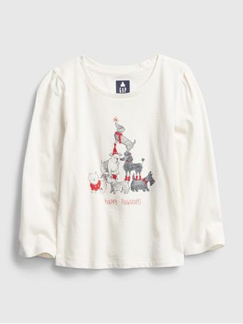 GAP - Toddler Mix and Match Graphic T-Shirt DOG GONE
