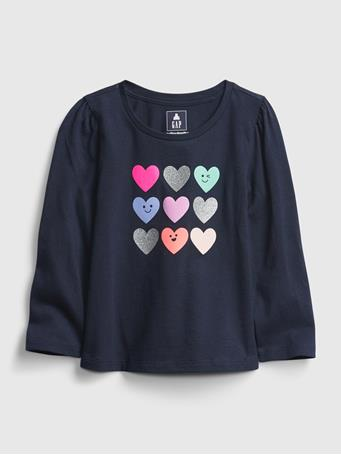 GAP - Toddler Mix and Match Graphic T-Shirt HEARTS