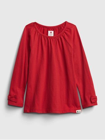 GAP - Toddler Mix and Match Tunic Shirt MODERN RED