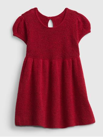 GAP - Baby Skater Sweater Dress MODERN RED