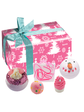 BOMB - Dreaming Of A Pink Christmas Gift Pack No Color