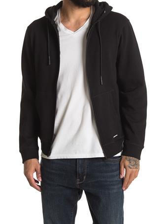 XRAY - Soft Touch Fleece Full Zip BLACK